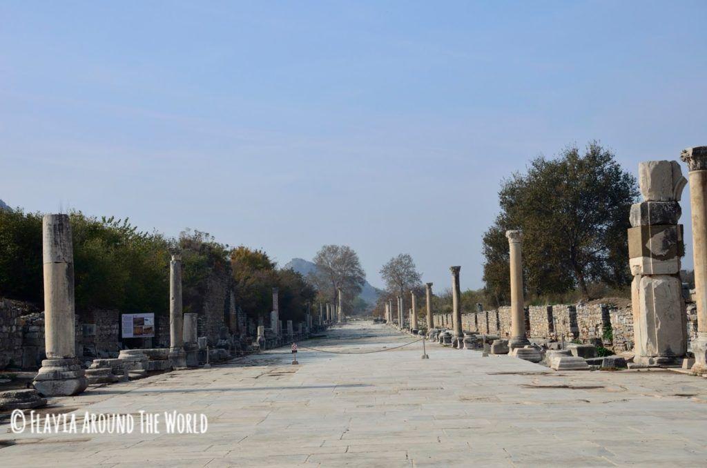 Calle del puerto de Éfeso