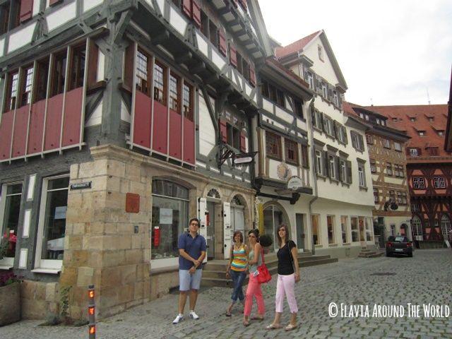 Más casas de entramado de madera en Esslingen