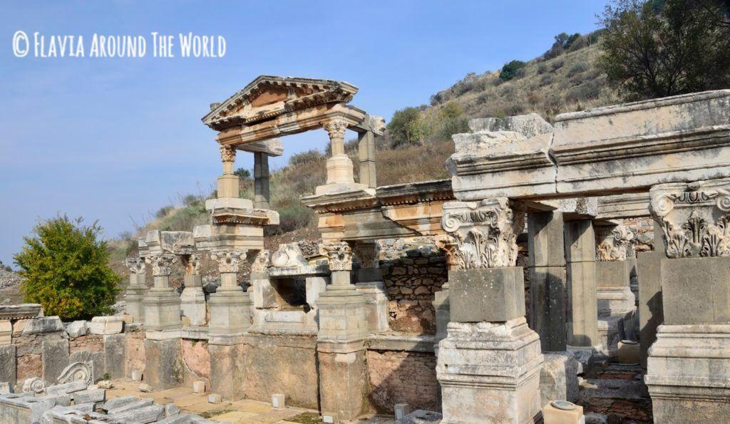 Fuente de Trajano en Éfeso