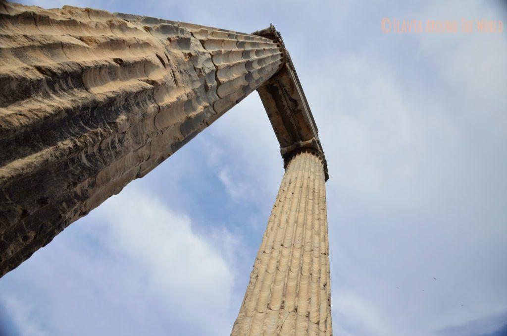 Columnas del templo de Apolo, Didima, Turquía