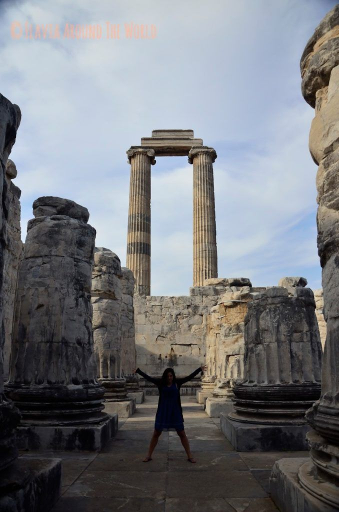 COlumnas del templo de Apolo, Turquía