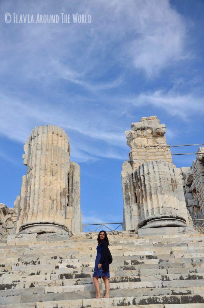 Escalera del templo de Apolo, Turquía