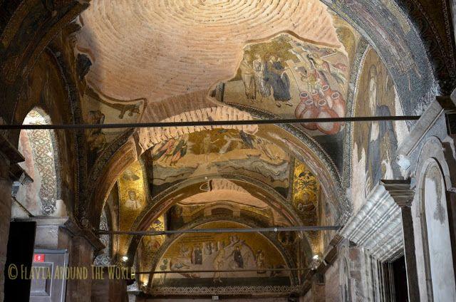 Visión general de los mosaicos de la iglesia de Cora