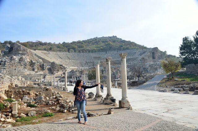 Ensayasando mi idioma de gesto en Éfeso