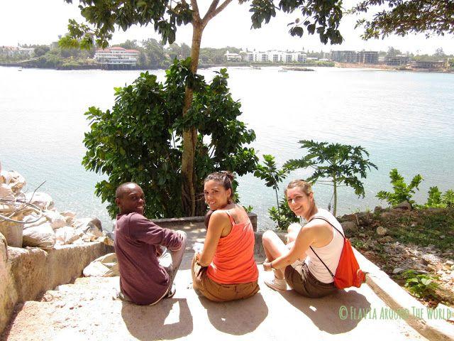 Con Sami y Diana descansando