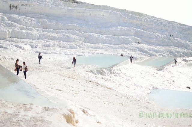 Deslumbrante blanco de Pamukkale