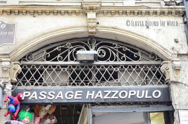 Entrada al passage Hazzopulo