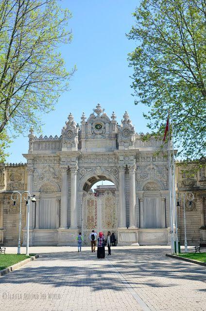 Palacio de Dolmabahçe cerrado a cal y canto los lunes
