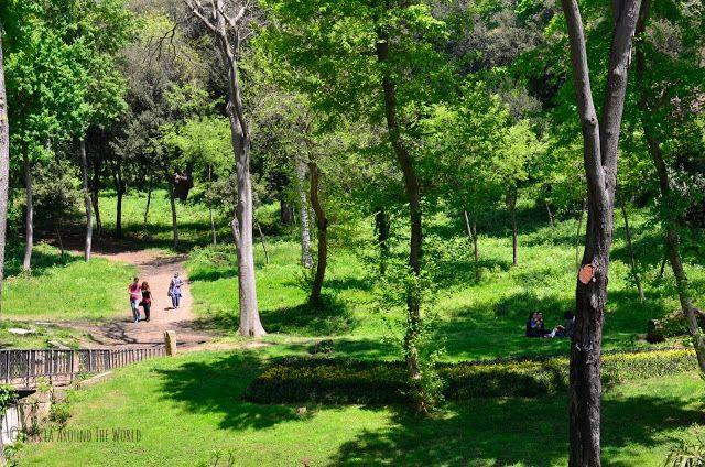 Jóvenes en el parque Yıldız  de Estambul