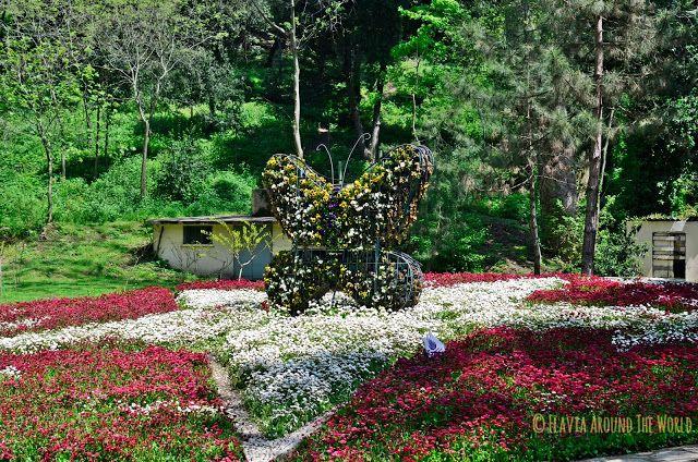 Jardín del parque Yıldız de Estambul