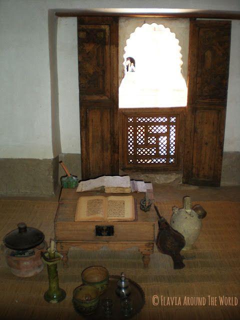 Habitación de la madraza de Marrakech