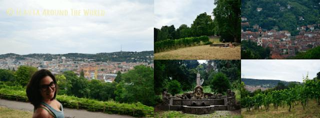 Vistas y entorno del Karlshöhe en Stuttgart