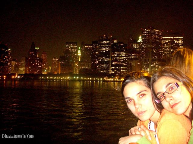 Vistas de Manhattan desde el ferry