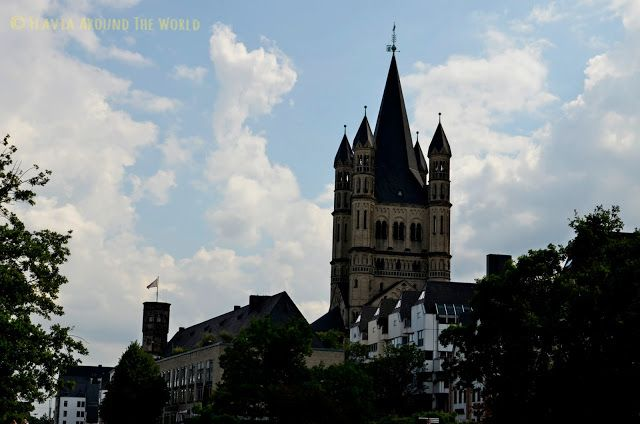 Torre de la iglesia de Groß St. Martin de Colonia