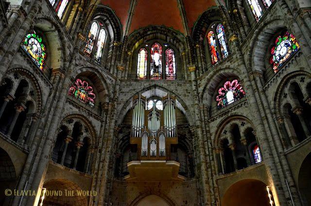Interior de la iglesia de St.Gerón de Colonia