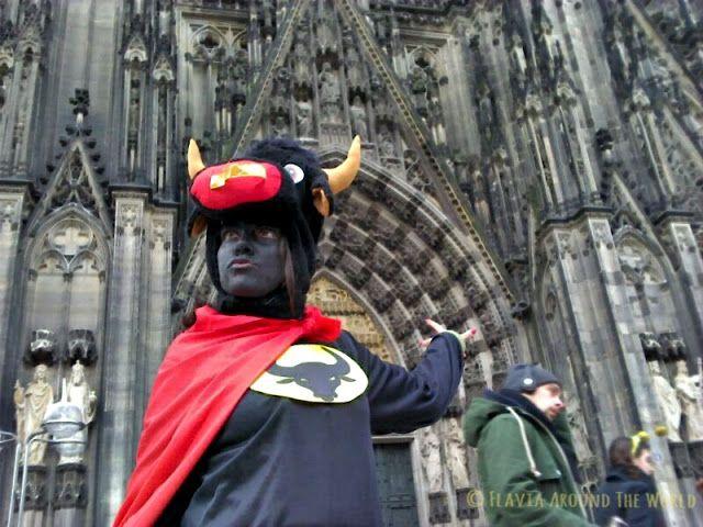 De misión super secreta en los carnavales de Colonia