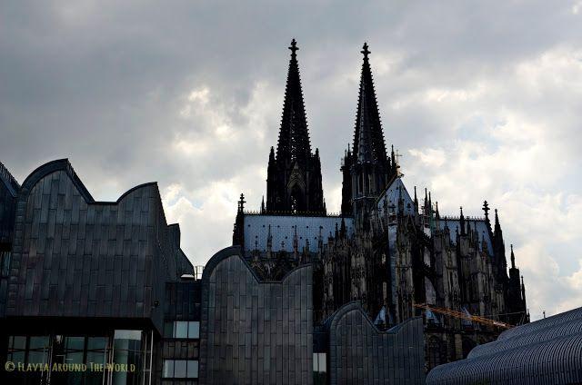 Otra vista de la catedral de Colonia
