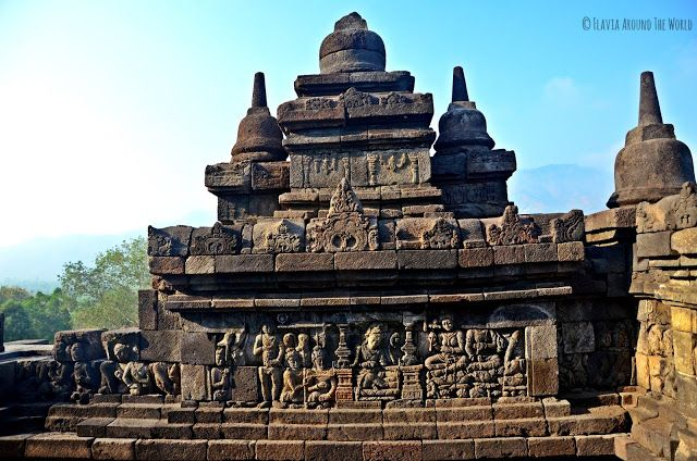 Grabados de Borobudur