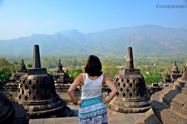 Vistas desde Borobudur