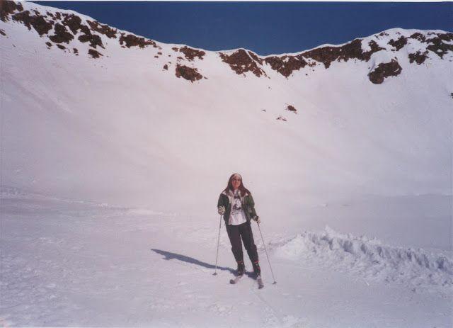 Esquiando en Astún