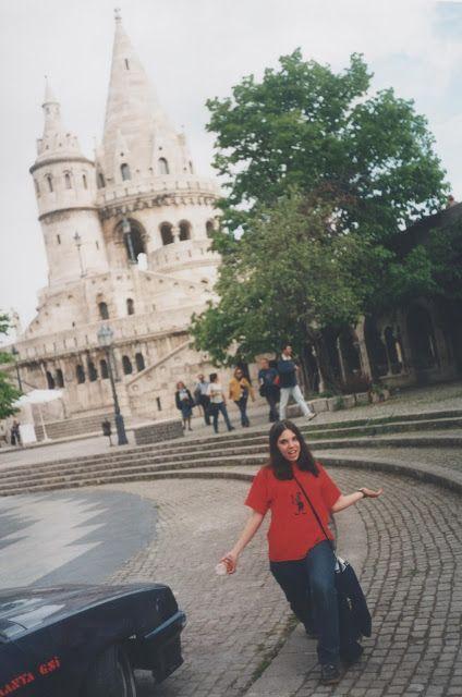 En el castillo de Budapest