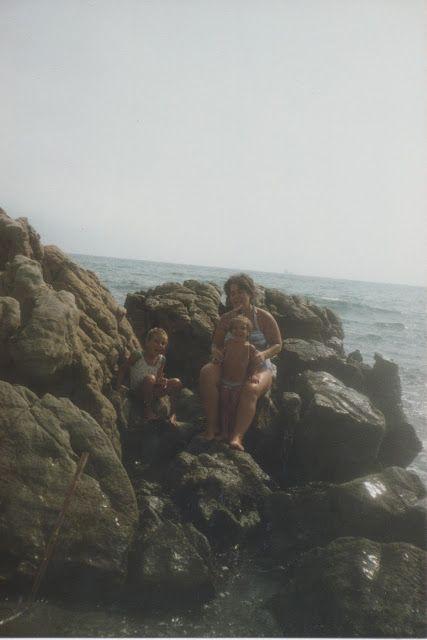 Más playa en la línea de la Concepción, verano del 87