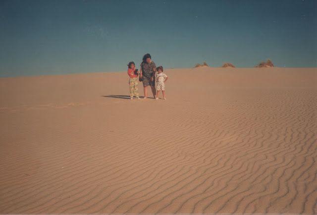 En las dunas de Doñana
