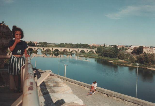 Puente sobre el río Duero en Zamora