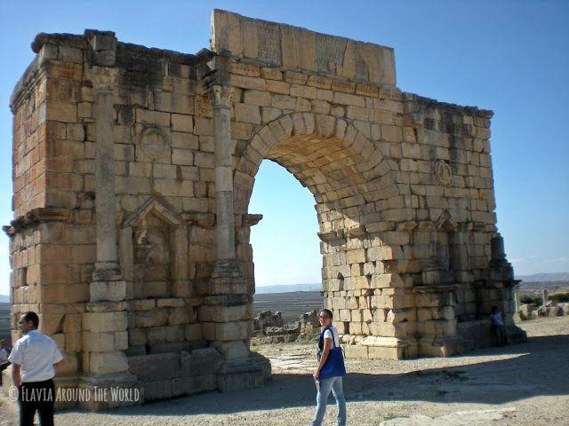 Arco de Triunfo Caracalla, Volubilis