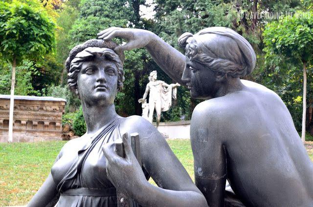 Estatuas del lapidarium