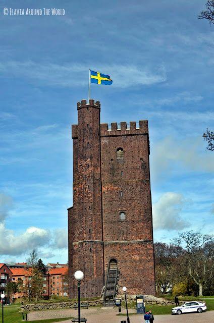 Torre de la antigua muralla de Helsingborg