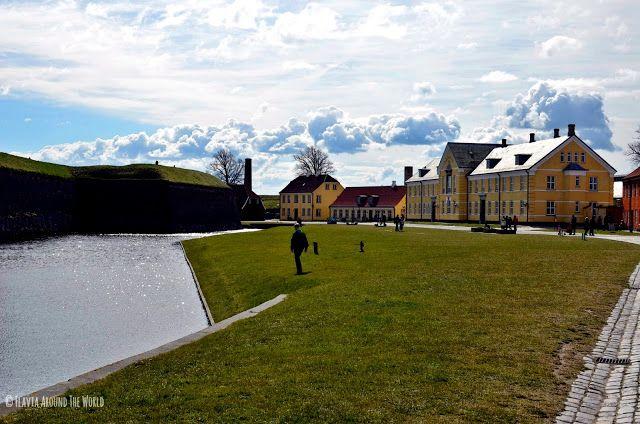 El foso del castillo e Kronborg