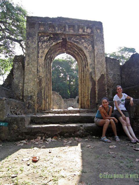 Arco de las ruinas de Gedi