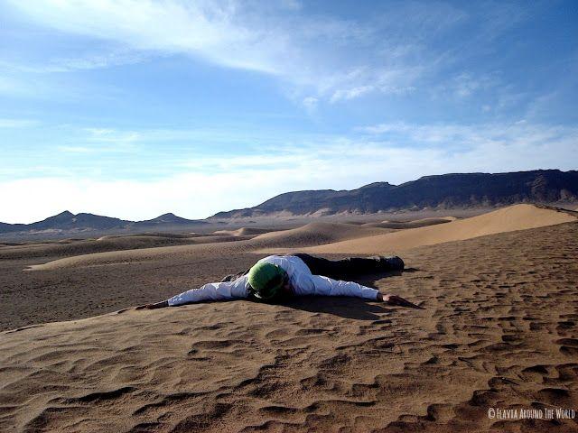 Descansando sobre una duna de Zagora
