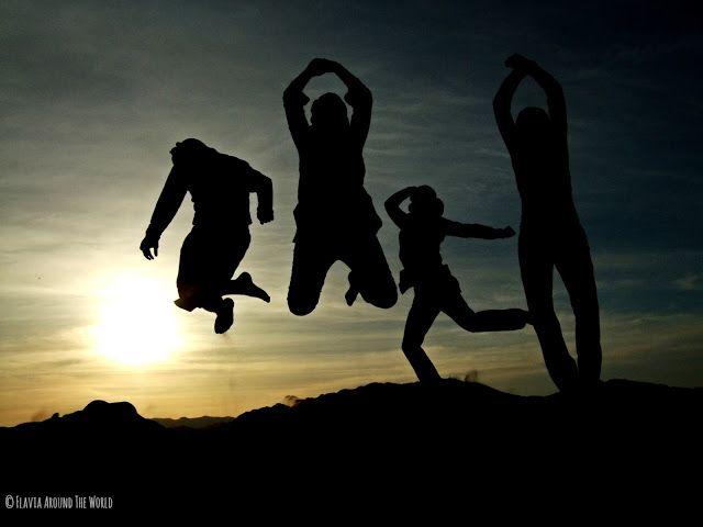 Saltando al amanecer en Zagora