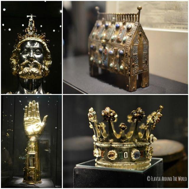 Tesoros de la catedral de Aachen