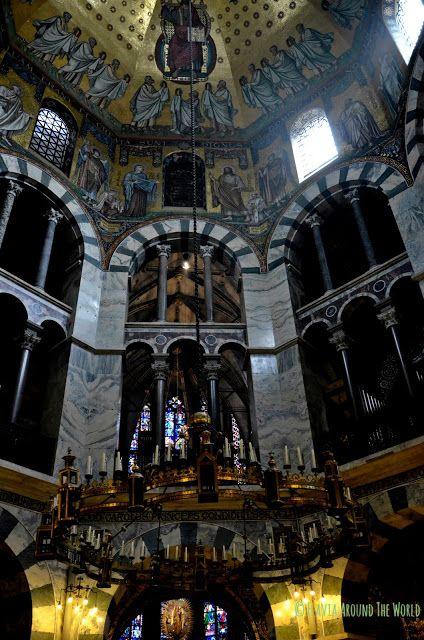 Interior de la catedral de Aachen