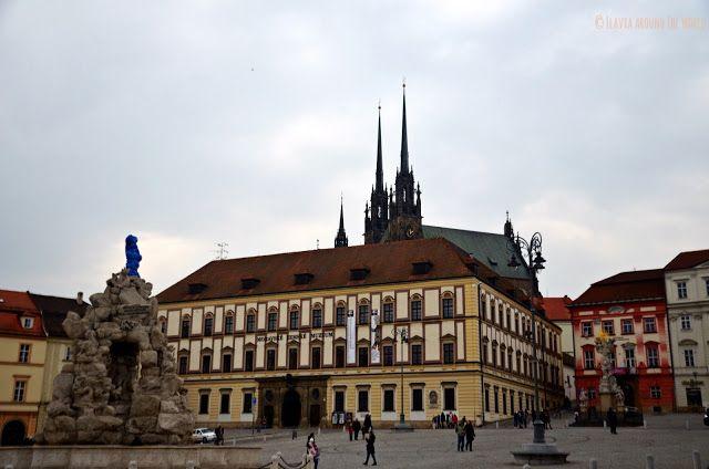 Plaza de las verduras de Brno