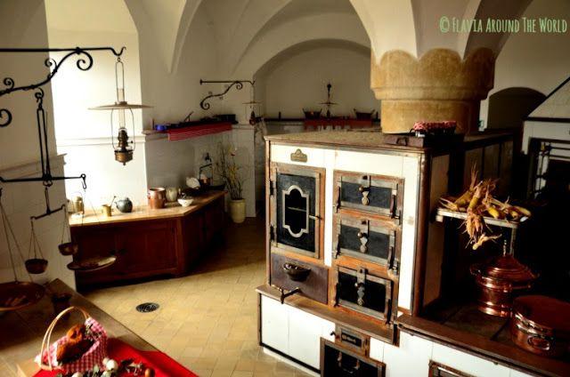 Cocina del castillo de Bouzov República Checa
