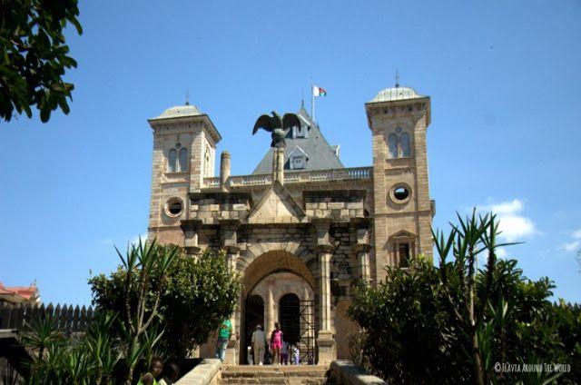 Rova o Palacio de la Reina antananarivo