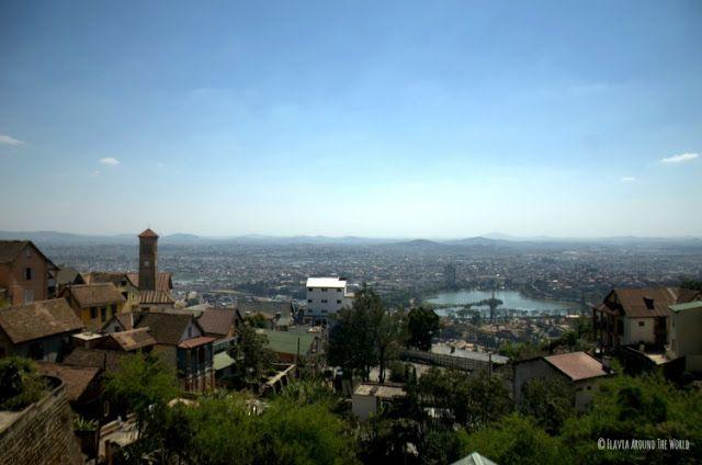Vistas desde el Palacio de la Reina antananarivo