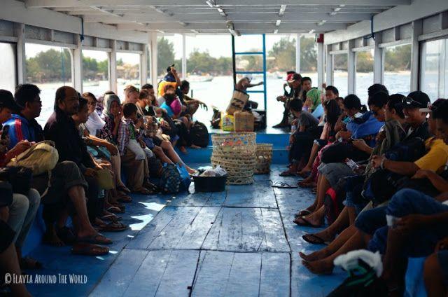 Barco de Gili a Lombok