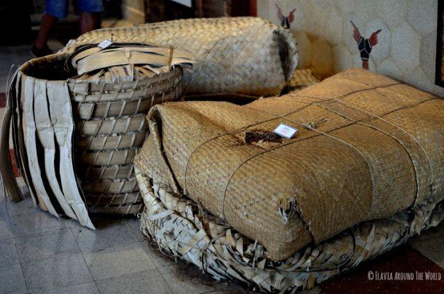 fardos de tabaco  Museo Sempoerna surabaya