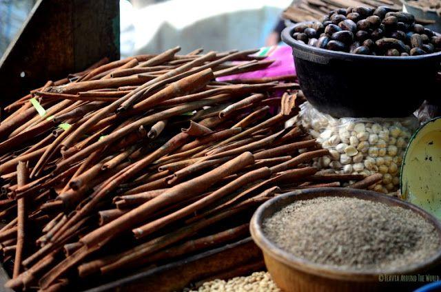 especias mercado chino de surabaya