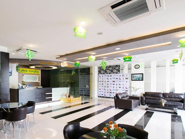 Recepción Hotel 88 Surabaya