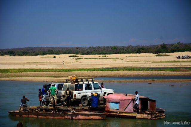 ferry de coches en madagascar