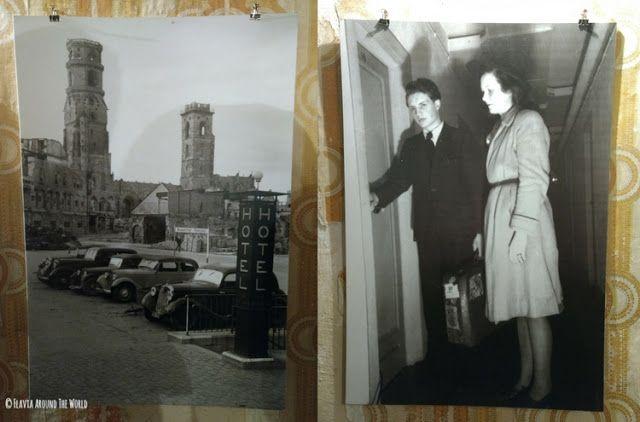 foto de huéspedes del hotel-bunker de Stuttgart y exteriores