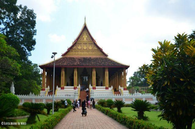 haw pha kaeo vientiane laos