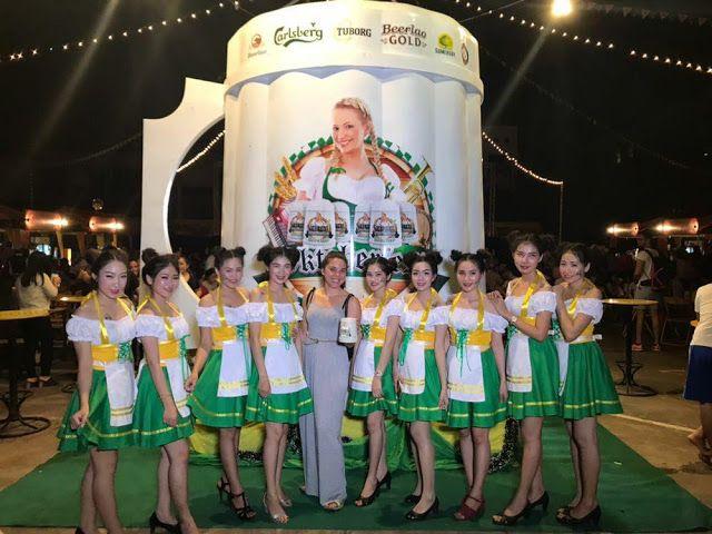 oktoberfest en vientiane laos