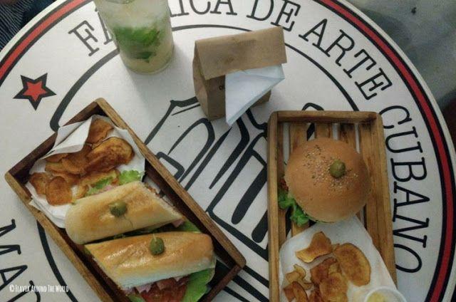 comida fabrica de arte cubano la habana cuba